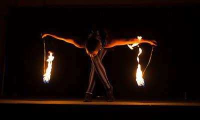 Lacombe Days Fire Dancing
