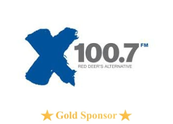X 100.7 FM Red Deer's Alternative - Lacombe Days Gold Sponsor